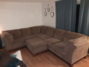 Sectional with ottoman for Sale in West Seneca, NY