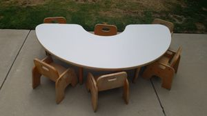 Table and Chairs 6 Chairs $80 for Sale in Fresno, CA