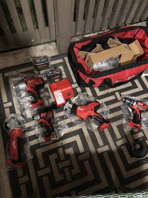 Milwaukee M-18 power tool set!! for Sale in Friendswood, TX