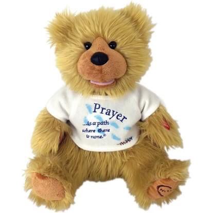 "Great Christmas Present-Chantilly Lane Noah ""Prayer"" Bear 12""."