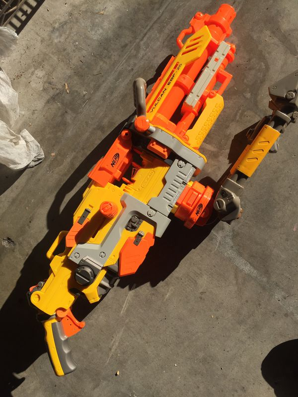 The Vulcan nerf gun , gun only with tripod