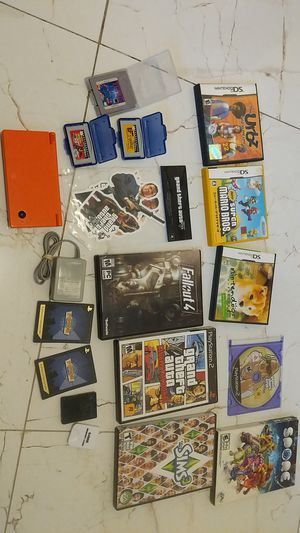 Game lot: Nintendo DSi, PS2, misc for Sale in Orlando, FL