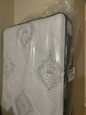 Twin Mattress and Bed Frame for Sale in Lutz, FL