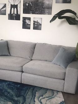 Light Grey Sofa Group for Sale in Portland,  OR