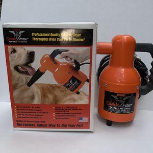 Quick draw portable pet dryer for Sale in Marietta, GA