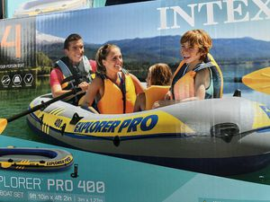 Intex explorer 400 inflatable boat NEW for Sale in Norcross, GA