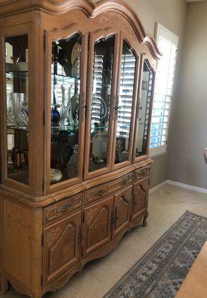 Stanley Furniture (2 piece) China Hutch for Sale in La Verne, CA