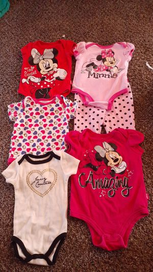 Minnie Mouse and Hello Kitty bundle that is 0 to 3 months more 3 to 6 months for Sale in Houston, TX