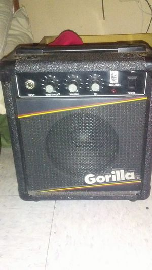 Gorilla 20w Bass Amplifier Amp for Sale in Waterbury, CT