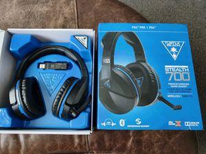 Stealth 700 Turtle Beach headset PS4 for Sale in Phoenix, AZ