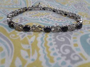 7.2 carat black sapphire bracelet for Sale in North Chicago, IL