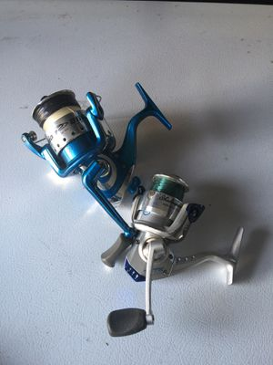 2 Fishing reel for parts for Sale in Brook Park, OH