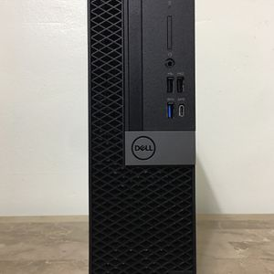Excellent Business DELL Optiplex XE3 Core i5 Corei5 8th. gen. 16GB RAM 256GB NVMe UHD Graphics Windows 10 desktop computer for Sale in Hollywood, FL
