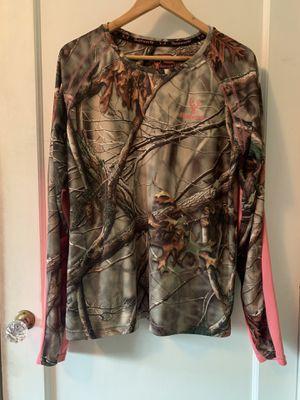 Huntsworth Real Tree Mossy Oak Camo Shirt Women's Sz XL for Sale in Portland, OR