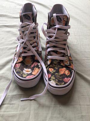 Vans Floral Hightop Sneakers for Sale in Perkasie, PA