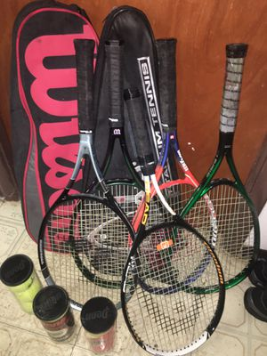 Tennis rackets for sale moving need gone asap for Sale in Honolulu, HI