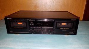 Denon Stereo Double Cassette Tape Deck DRW-660 for Sale in Seattle, WA