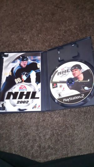 NHL 2002 PlayStation 2 ps2 for Sale in Las Vegas, NV