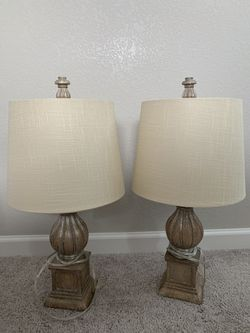 Two table lamps for Sale in Lakewood,  CO