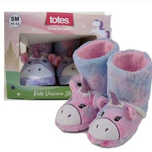 New Totes Toasties Little Girl S/m11-12 Unicorn Slippers (pick up only) for Sale in Alexandria, VA