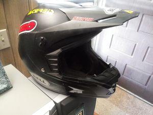 Bell sx1 motorcycle helmet!!!!side med 57/58cm for Sale in Hemet, CA