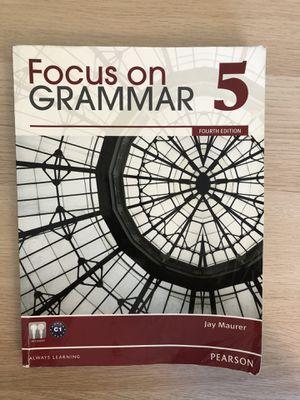 Focus grammar 5 for Sale in Columbia, SC
