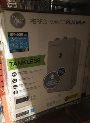 Rheem tankless water heater for Sale in Pacifica, CA