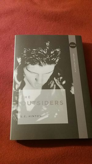 The Outsiders - By S.E. Hinton for Sale in Winooski, VT