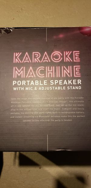 KARAOKE MACHINE for Sale in Moline, IL