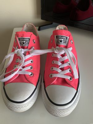 Hot pink converses. for Sale in Garner, NC