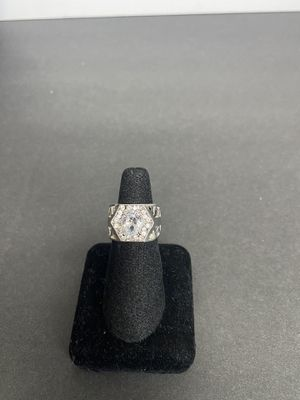 Diamond ring silver for Sale in Whittier, CA
