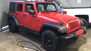 2007 JEEP WRANGLER UNLIMITED X clean title for Sale in Miami, FL