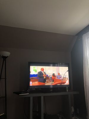 "Used 55"" tv $250 for Sale in Mitchell, IL"