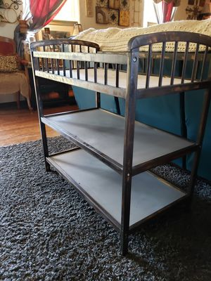 Solid wood changing table for Sale in Oklahoma City, OK