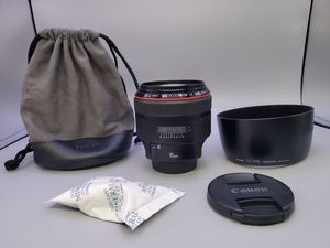 Canon ef 85mm 1.2L ii for Sale in Glendale Heights, IL