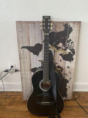 Black acoustic guitar for Sale in Dearborn, MI