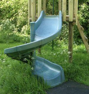 Green Spiral Slide for Sale in Newark, OH