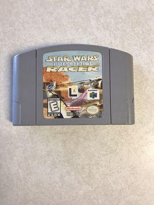 Star Wars Episode 1 Racer Nintendo 64 for Sale in St. Cloud, MN
