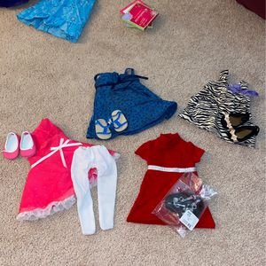 American Girl Doll Dresses With Shoes for Sale in Orange, CA