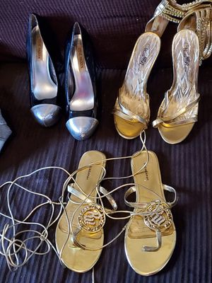 3 pairs of womens shoes size 8 for Sale in Murfreesboro, TN