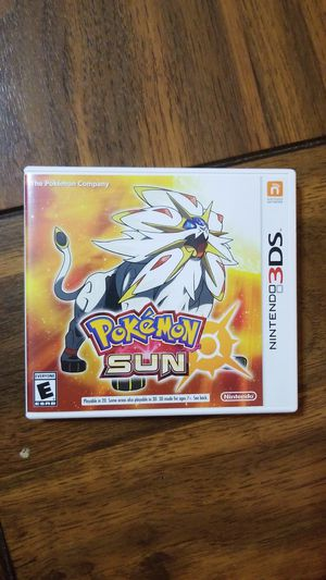 Pokemon Sun (3DS) for Sale in Tupelo, MS