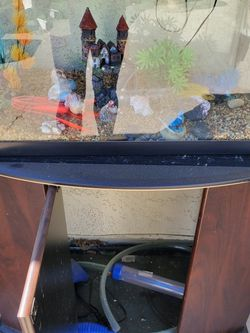 20 Gallon Fish Tank With Stand for Sale in Rancho Cucamonga,  CA