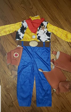 Woody- TOY STORY COSTUME 3-4T for Sale in Glen Burnie, MD
