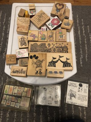 Big lot of Rubber Stamps! for Sale in Long Beach, CA