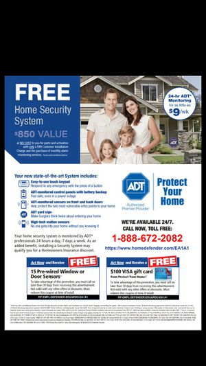 Adt security system for Sale in Laredo, TX