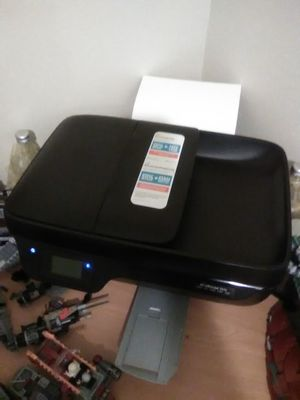 Printer Hp 3830 all in one have cd and book for Sale in Metairie, LA