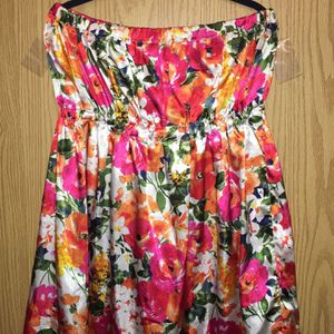 Handmade Silky Strapless Dress Knee Length for Sale in Las Vegas, NV