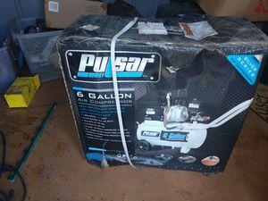 Pulsar air compressor 6gal for Sale in Hutto, TX