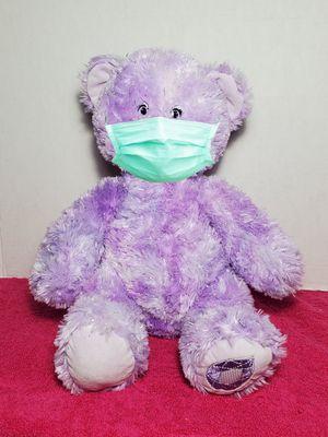 """Build a Bear 15"""" Purple Amethyst Sparkle Gem of a Friend Plush Teddy Stuffed BABW for Sale in Dale, TX"""