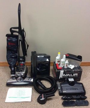 NEW cond KIRBY AVALIR2 vacuum with complete attachments, SHAMPOO SYSTEM, zip brush, Amazing POWER suction, in the BOX, WORKS EXCELLENT for Sale in Federal Way, WA